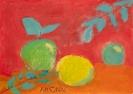 Яблоки (кислые). Ангелина Денисова 10 лет (Сергиево-Посадский детский дом для слепоглухих детей)