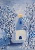 Зимний храм.  Ангелина Денисова 9 лет (Сергиево-Посадский детский дом для слепоглухих детей)