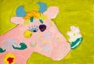 Розовая корова. Соня Малыхина 10 лет